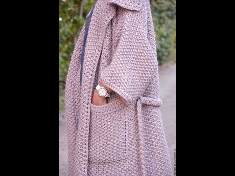 фото Вязаных Кардиганов для Женщин - 2019 / Photo Knitted Cardigans For Women