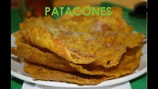How To Make Patacones