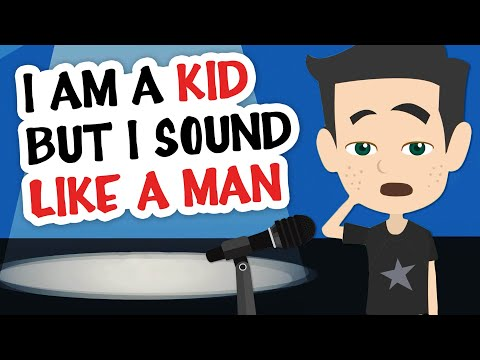 I'm A Kid, But I Sound Like A Man