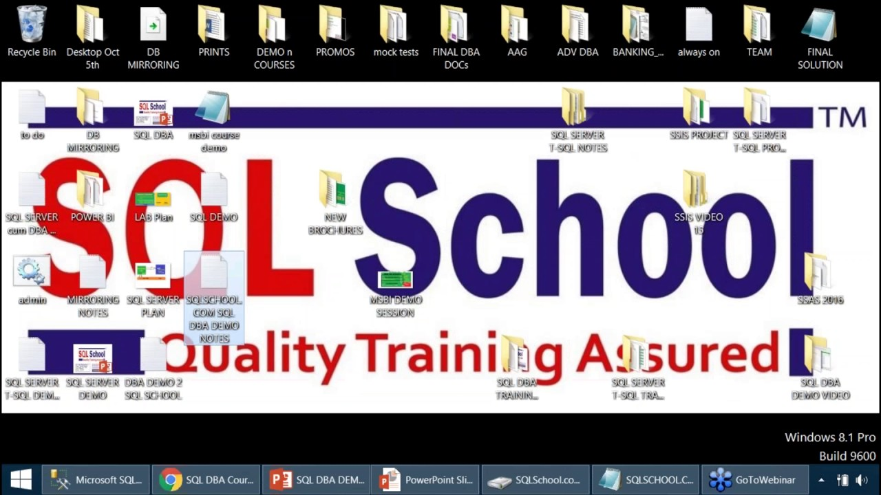 SQL DBA Online Training | Online Training for SQL DBA | SQL