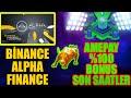 BİNANCE ALPHA FINANCE LAUNCHPAD! AMEPAY TOKEN %100 BONUS ...