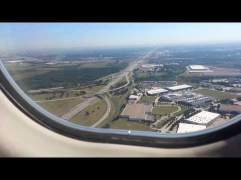 Landing in Dallas Fort Worth Airport (DFW)