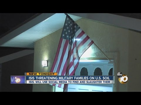 ISIS threatening military families on U.S. soil