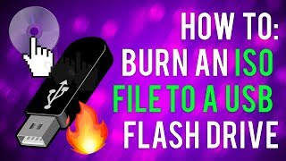 how to burn an iso file to a usb flash drive