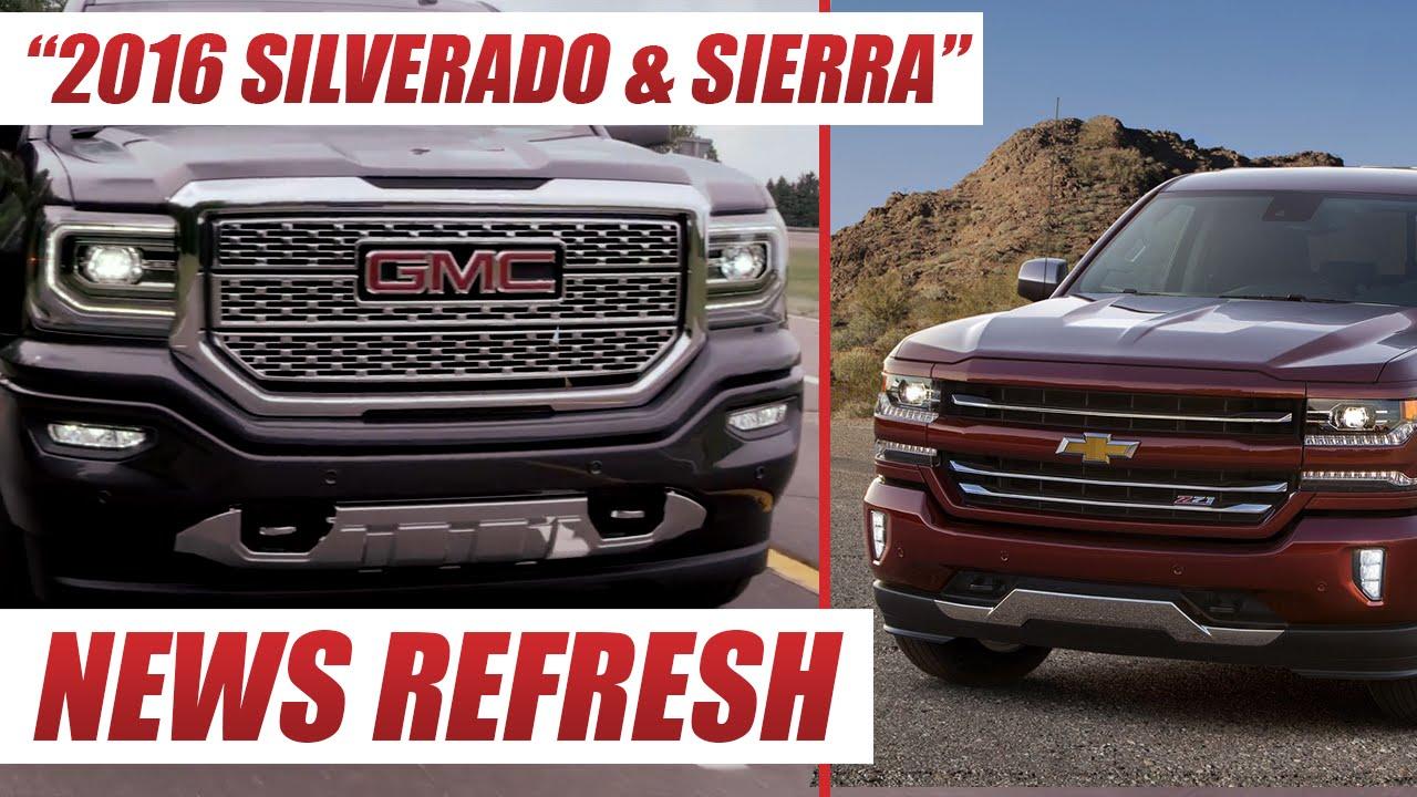 2016 chevrolet silverado and gmc sierra do you like gms new trucks youtube. Black Bedroom Furniture Sets. Home Design Ideas