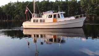 Eagle 40 PIlothouse Trawler BITTERSWEET 2002 sold by Chuck Grice 12/2015