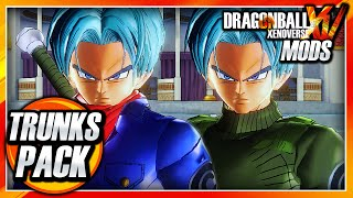 Dragon Ball Xenoverse PC: Ultimate Future Trunks Pack (Dragon Ball Super) Mod Gameplay