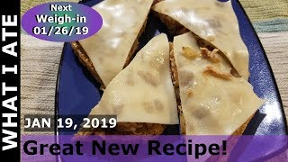 What I Ate On Ww Freestyle | Great New Recipe | Hi Pt Day! Jan 19 2019