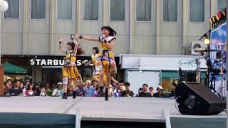 ばってん少女隊 2016 8月20日(土)まつり宮崎 ステージイベント.