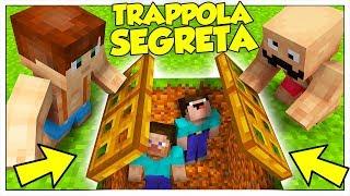 COME CREARE LA MIGLIORE TRAPPOLA PER I GIOCATORI! - Minecraft ITA