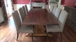 Reclaimed Wood Furniture By Hd Threshing Floor Furniture - Some Recent Work August 2013