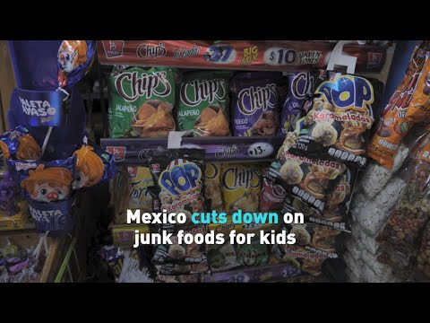 States In Mexico Implement Ban On Junk Food To Minors