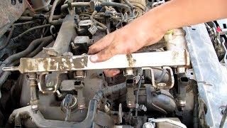 #1فك وتنظيف بوابة الهواء والبخاخات....(تنفع لكل السيارات)