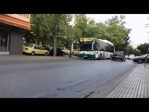 Athens bus bus spoting at liosion street