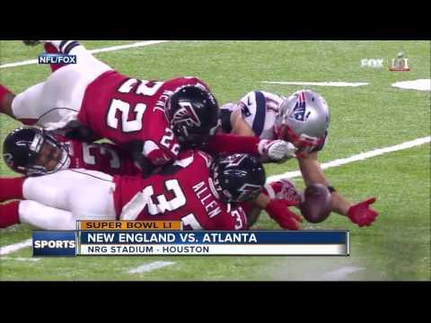 The New England Patriots win Super Bowl LI