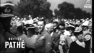 Mountbatten In Toronto AKA Mountbattens At Canadian Exhibition (1949)