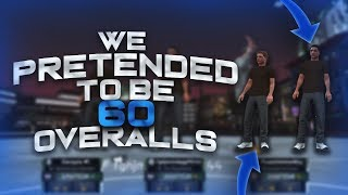 TRASH TALKERS GET EXPOSED BY 60 OVERALLS! NBA 2K19