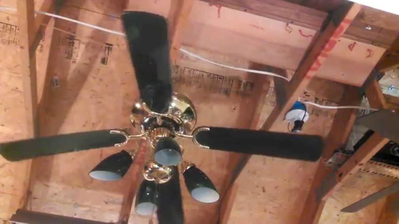 Encon Jewel Ceiling Fan With Green Banker S Glass Light Kit Part 2
