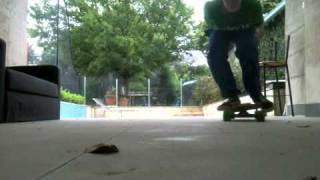 Near oldschool kickflip on sitchblade