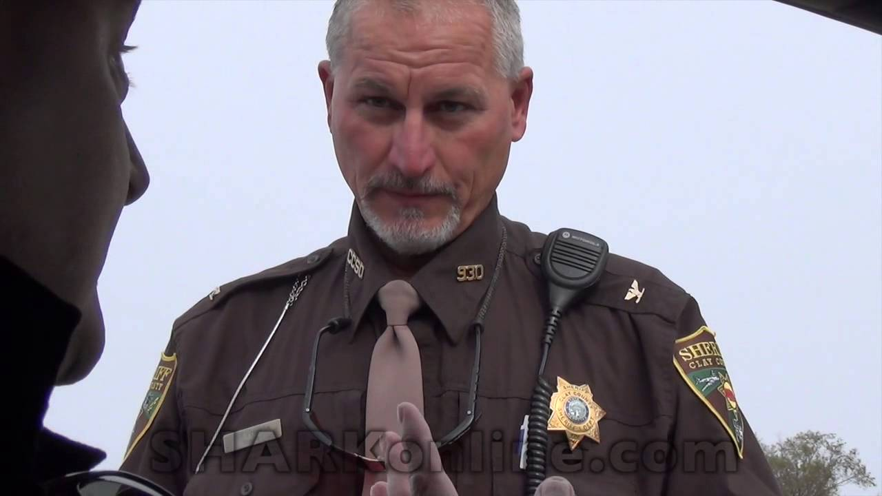 clay county sheriff makes illegal stop funnycat tv