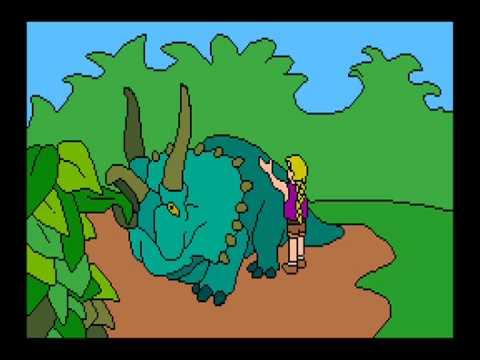 Jurassic Park: Paint & Activity Center - Triceratops
