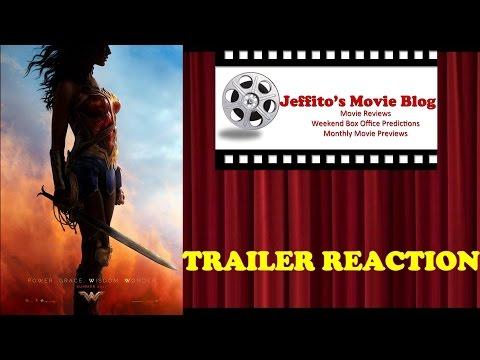 Wonder Woman (2017)  - Official Origin Trailer Reaction