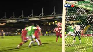 Video Yeovil 0-2 Fleetwood Town | The FA Cup 2nd Round Replay 14/12/11 download MP3, 3GP, MP4, WEBM, AVI, FLV Oktober 2018