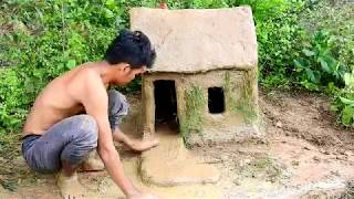 Build House By Mud In The Deer land, Build Idea Team, Amazing Build Beautiful House