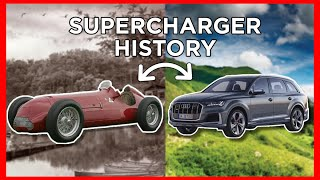 homepage tile video photo for D4A's COMPLETE HISTORY of Superchargers!