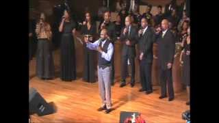 Paul Heflin Ministers to Donnie McClurkin