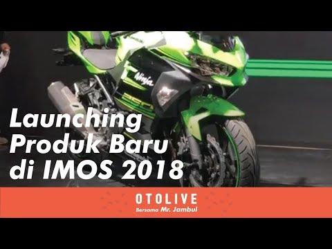 IMOS 2018 - Launching Produk Baru Yamaha, Kawasaki, Suzuki