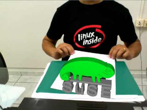 Augmented reality in openSUSE