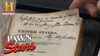 Pawn Stars: Rick Sets Sail for John Adams's Naval History Books (Season 13) | History