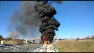 Explosion Véhicule GPL