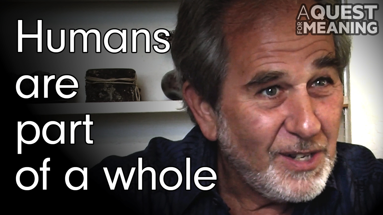 """""""Humans are part of a whole"""" by Bruce Lipton"""