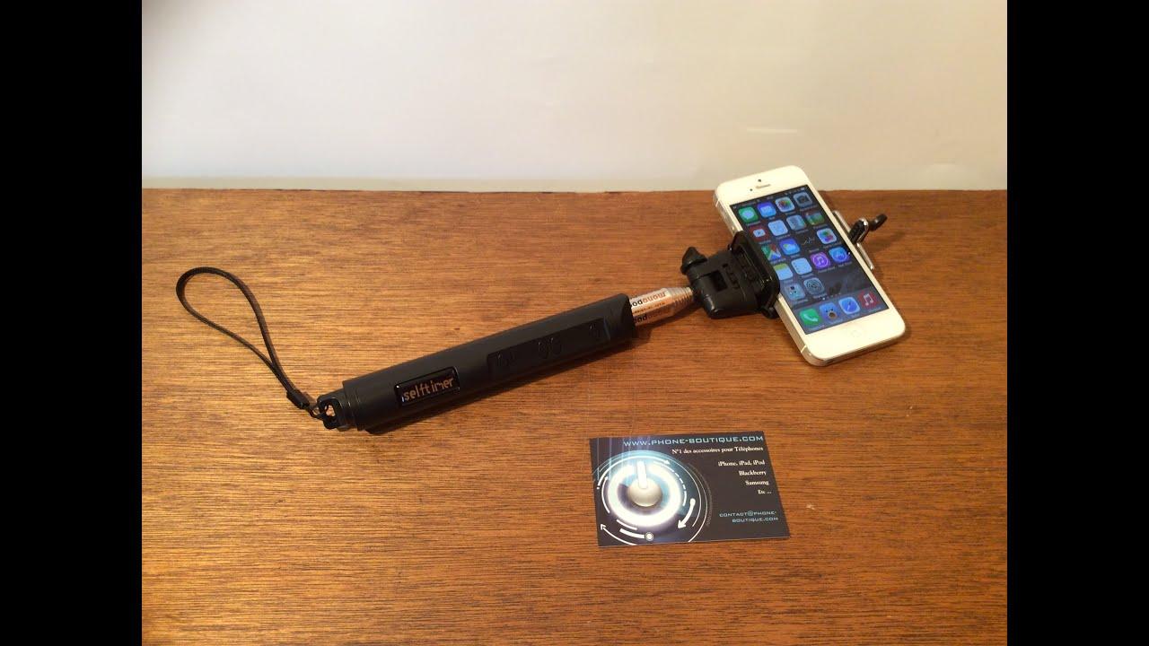 test perche selfie pour smartphones youtube. Black Bedroom Furniture Sets. Home Design Ideas