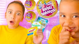 PRANKS on Sister with 5 Surprise Mini Brands