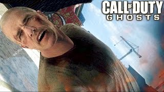 Call of Duty Ghosts Gameplay Brutal Campaign Mission Veteran
