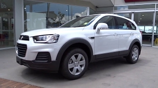 2016 HOLDEN CAPTIVA Booval, Ipswich, Woodend, Raceview, Brisbane, QLD ANWSAA
