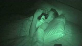 Simon's Cat (real) in night vision - part 2