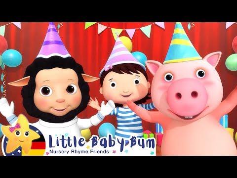 das-silvester-party-lied- -kinderlieder- -cartoons-für-kinder- -little-baby-bum