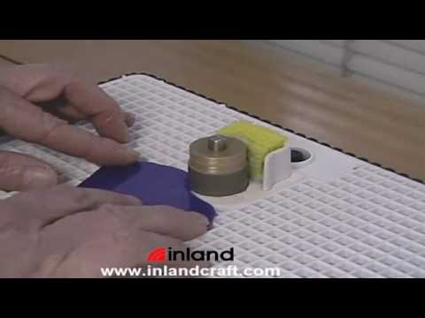 Grinding Glass Safely with your Inland Glass Grinder