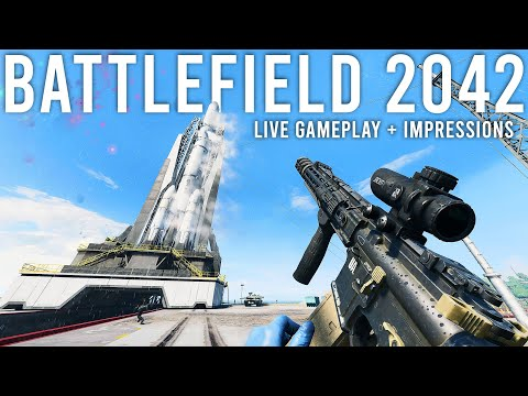 Battlefield 2042 Gameplay and Impressions Live!