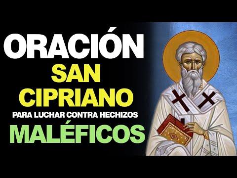 🙏 Oración de San Cipriano para LUCHAR CONTRA HECHIZOS MALÉFICOS Y BRUJERÍAS 🙇