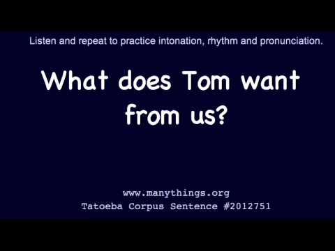 2s-014 - Tom - Listen And Repeat English Sentences