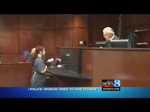 Wife accused of trying to hire hitman