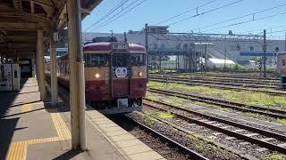 【再投稿】えちごトキめき鉄道 国鉄型急行列車