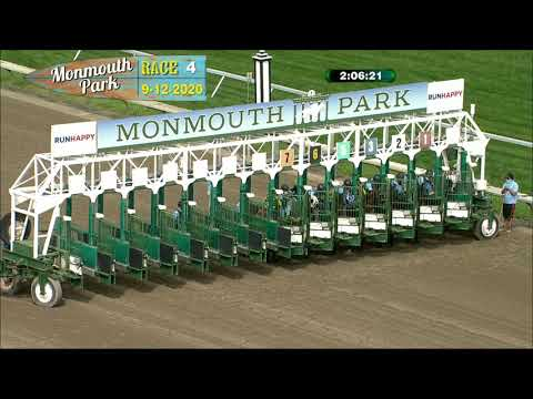 video thumbnail for MONMOUTH PARK 09-12-20 RACE 4