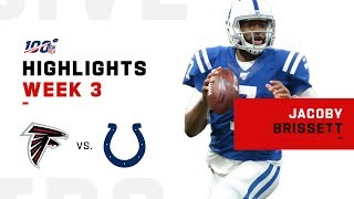 Jacoby Brissett's Clutch Game w/ 310 Yds & 2 TDs | NFL 2019 Highlights
