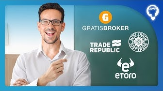 Aktienhandel für 0,- € Gratisbroker, Traderepublic,  BROKER-Vergleich